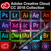 Adobe cc 2018 collection icon