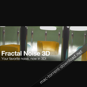 Fractal Noise 3D 1 53 for After Effects Free Download | Mac