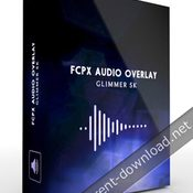 Pixel film studios fcpx audio overlay glimmer 5k for fcpx icon