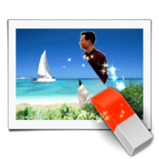 Photo eraser remove unwanted objects from photo icon