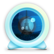 Webcam world view icon