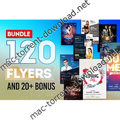 100bundlepsdflyersclubandbusinessdownload icon