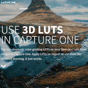 Lutify me styles for capture one icon