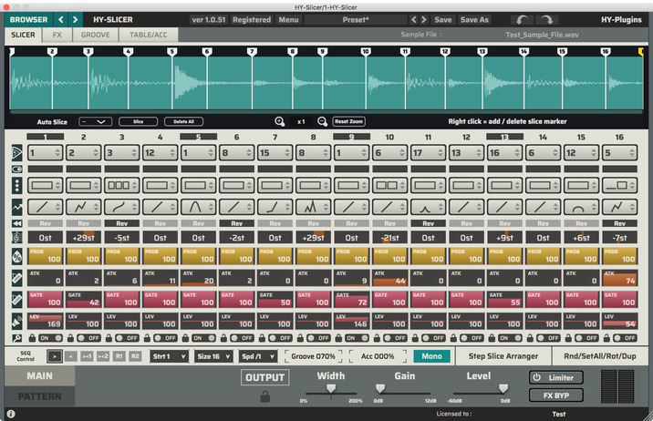 HY-Plugins HY-Slicer v1 2 12 (WIN MAC) Free Download | Mac
