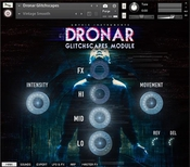Gothic instruments dronar glitchscapes icon