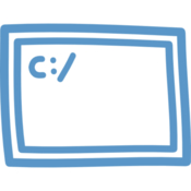 Cd to new terminal here icon