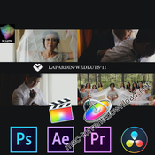 LAPARDIN WEDLUTS – Romantic Wedding LUTs for Final Cut Pro X