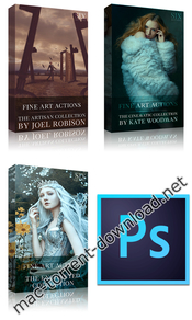 Fine art actions photoshop actions collection 11 2018 icon