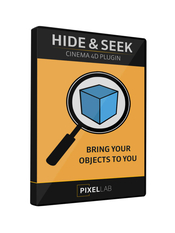 Hide and seek plugin for cinema 4d icon