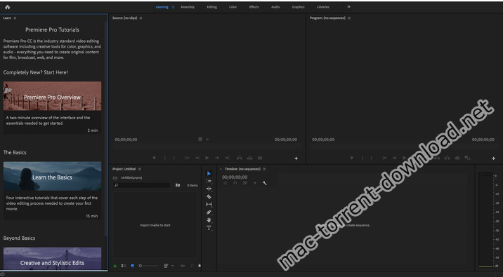 Adobe Premiere Pro CC 2019 v13 1 download free | Mac Torrent Download
