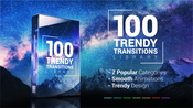 100 trendy transitions for adobe premiere pro icon