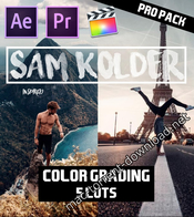 Sam kolder 2018 pro color grading lut pack icon