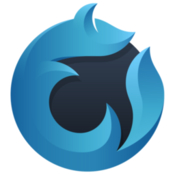 Waterfox high performance browser based on the mozilla platform icon