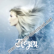Frozen photoshop action 19409748 icon