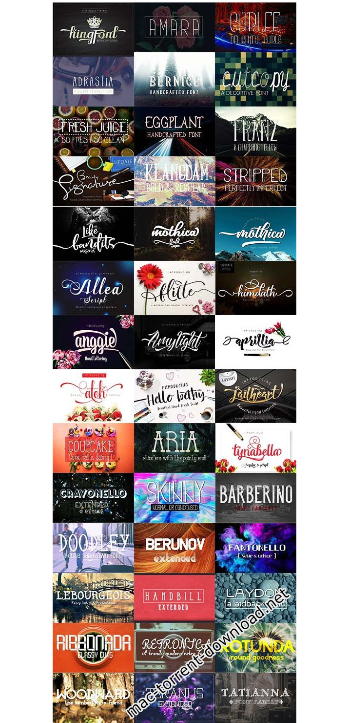 200plus_fonts_collection