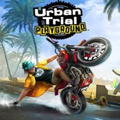 Urban trial playground icon
