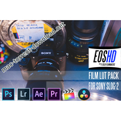 Eoshd film lut pack icon