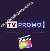 Lenofx trailer tv promo theme for final cut pro x icon