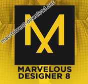 Marvelous designer 8 icon