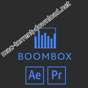 Mt mograph boombox for after effects premiere icon