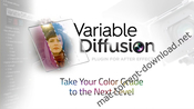 Variable diffusion after effects icon