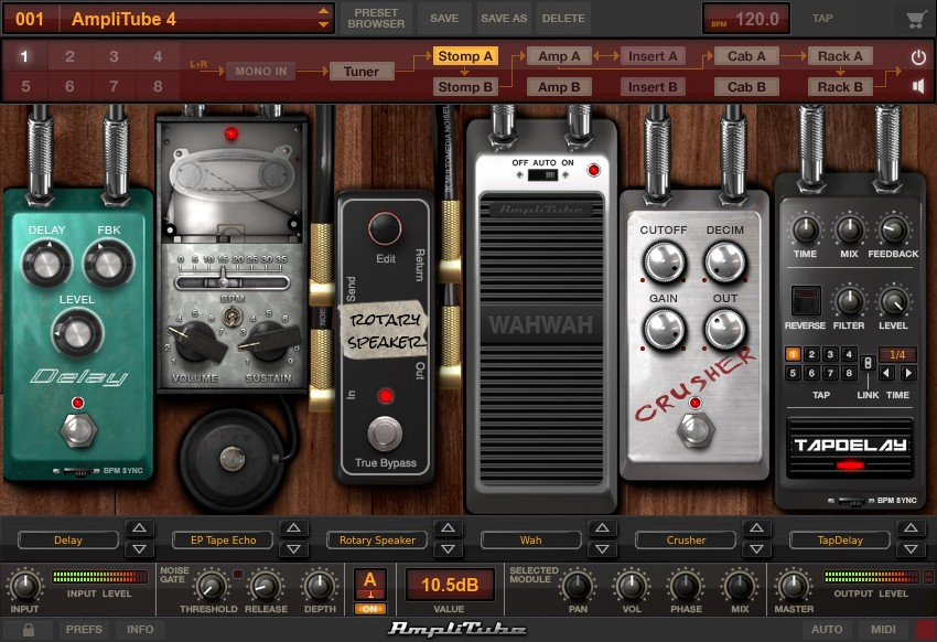 IK Multimedia AmpliTube 4 Complete 490 Screenshot 02