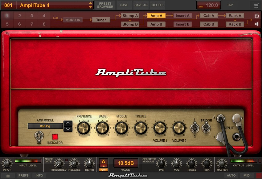 IK Multimedia AmpliTube 4 Complete 490 Screenshot 03