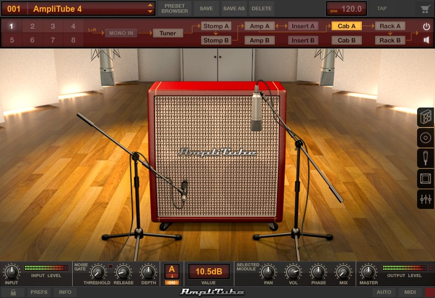 IK Multimedia AmpliTube 4 Complete 490 Screenshot 05