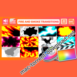 Fire and smoke transitions final cut pro 24303589 icon