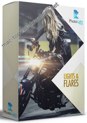 Photo light pro lights and flares pack icon