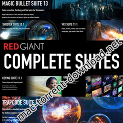 Red Giant Complete Suite 2019 for Adobe (Updated 30 08 2019