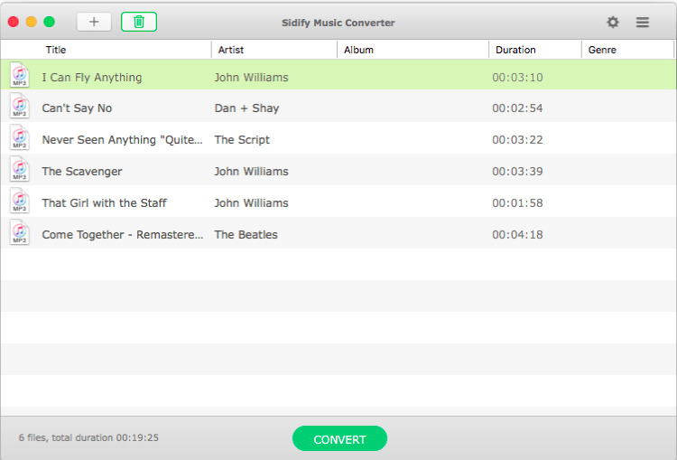 Sidify Music Converter for Spotify 136 Screenshot 02