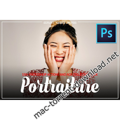 300 portraiture photoshop actions and acr icon