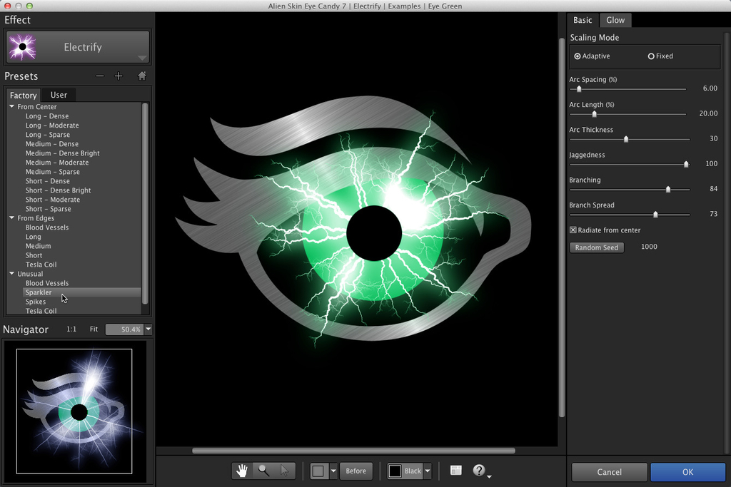 Alien Skin Eye Candy 72375 Screenshot 01 7mgh5yn