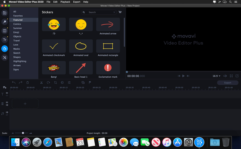 Movavi Video Editor Plus 2020 v2000 Screenshot 03 134ng3n