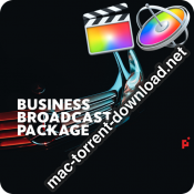 Business Broadcast Pack Final Cut Pro X 23574959