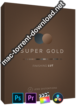 Lens Distortions Super Gold Finishing LUTs icon