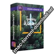 FlatPackFx Instagram Stories V1 Premiere Pro box icon