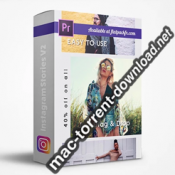 FlatPackFx Instagram Stories V2 Premiere Pro box icon