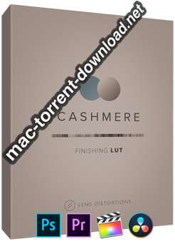 Lens Distortions Cashmere Finishing LUTs