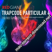 Red Giant Trapcode Particular 4