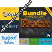 Bundle Photoshop Layer Styles 4073173 icon