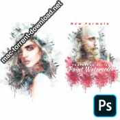 Paint Watercolor Photoshop Action 4280452 icon